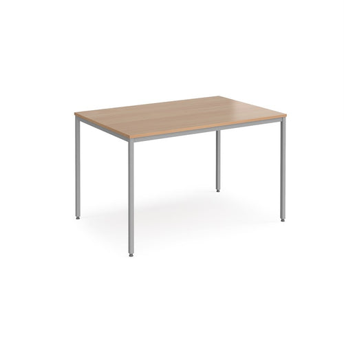 Rectangular Flexi Table With Silver Frame - Flogit2us.com