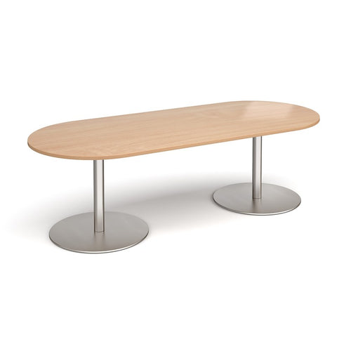 Eternal Radial End Boardroom Table 2400mmx1000mm - Flogit2us.com