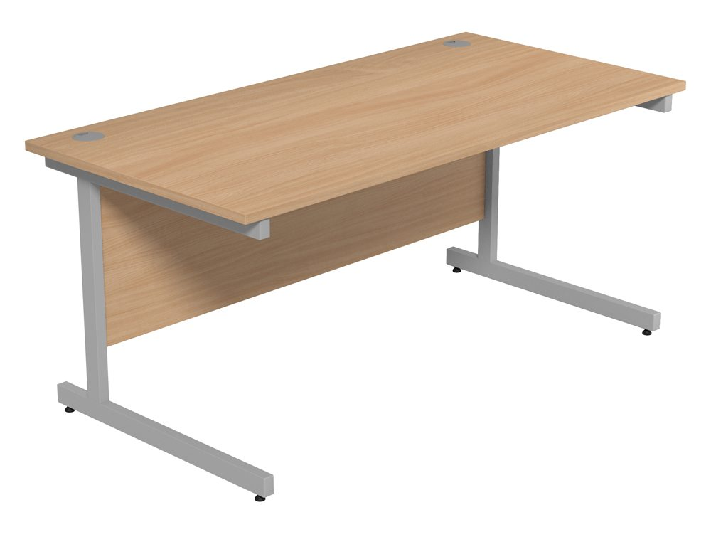 Straight Office Desk - New (Slight Second) - Flogit2us.com