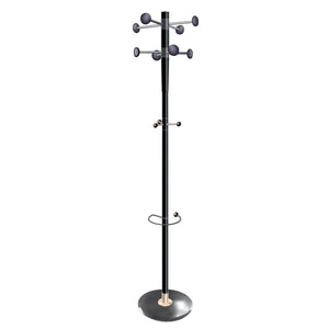 5 Star Decorative Coat Stand & Umbrella Holder Black - Flogit2us.com