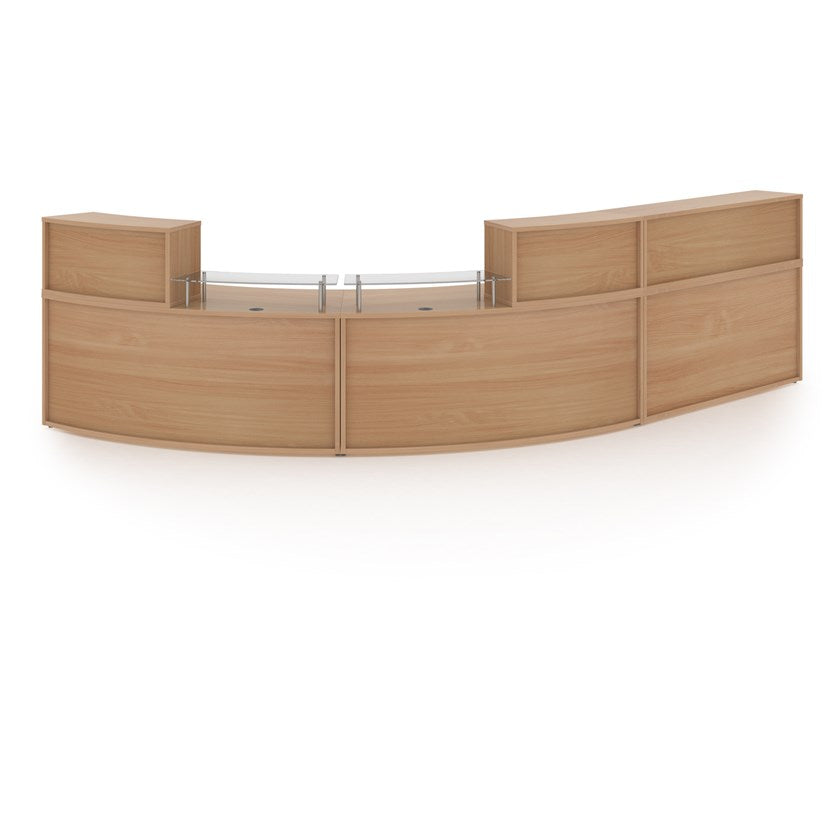 Denver Extra Large Curved Reception Unit - Flogit2us.com