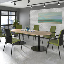 Load image into Gallery viewer, Eternal Radial End Boardroom Table 2400mmx1000mm - Flogit2us.com