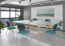 Load image into Gallery viewer, Fuze Rectangular Boardroom Table 3200mmx1600mm - Flogit2us.com