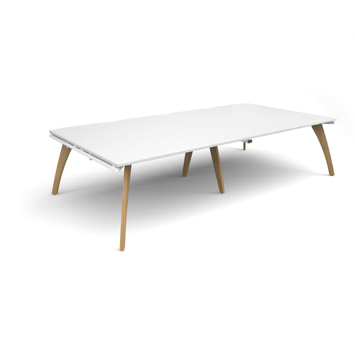 Fuze Rectangular Boardroom Table 3200mmx1600mm - Flogit2us.com