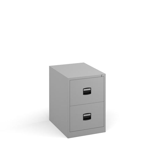 Steel Contract Filing Cabinet - Grey - Flogit2us.com