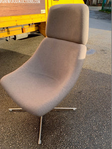 Upholstered Lounge Chair - Grey - Flogit2us.com
