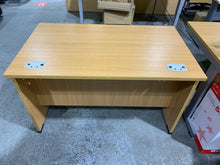 Load image into Gallery viewer, 1200mm Oak Straight Desk With Built-in Drawer
