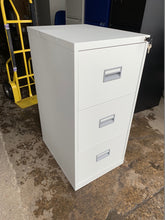 Load image into Gallery viewer, Talos 3 Drawer Grey Filing Cabinet (New Slight Second) - Flogit2us.com