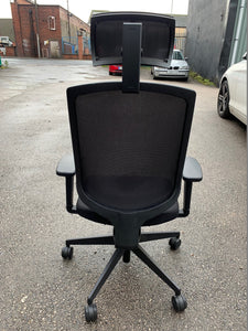 High Back Mesh Ergonomic Office Chair (New Slight Second)