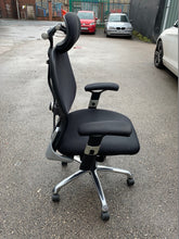 Load image into Gallery viewer, High Back Mesh Multi Function Office Chair Black - Flogit2us.com