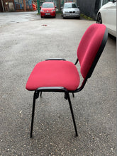 Load image into Gallery viewer, Red Cloth Stackable Meeting/Conference Chair - Flogit2us.com