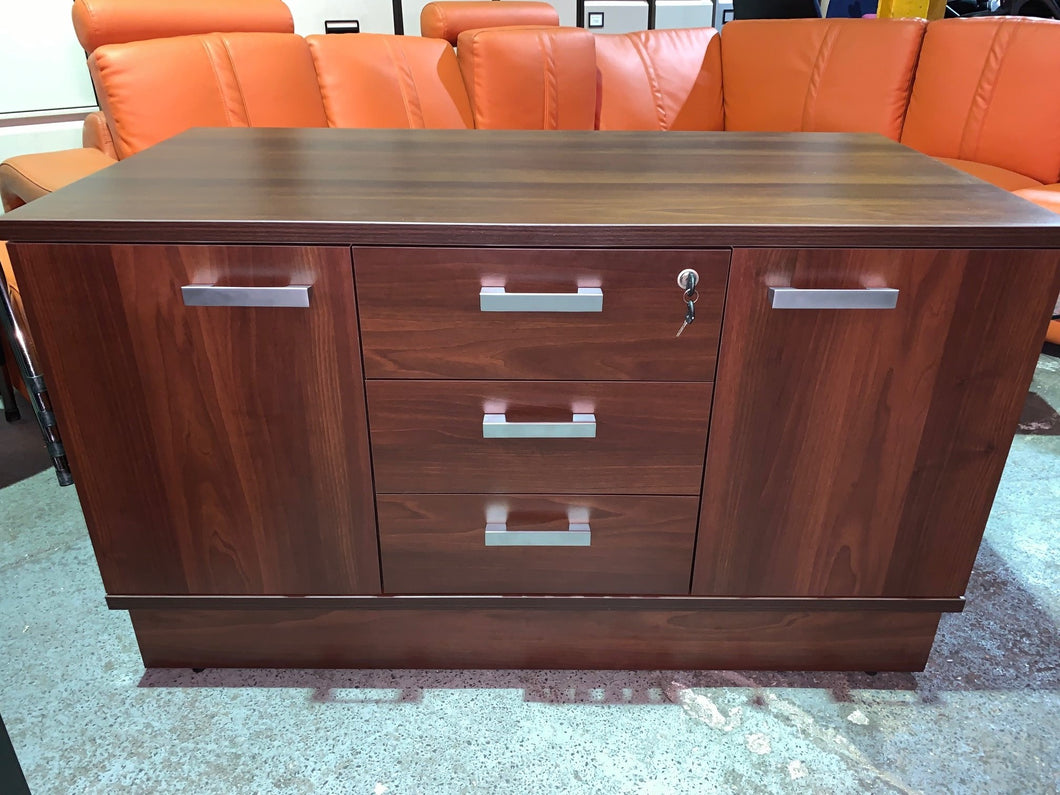 Walnut Executive Storage Unit (New Slight Second) - Flogit2us.com