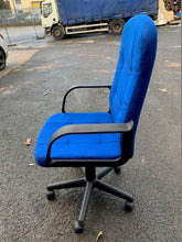 Load image into Gallery viewer, Pipit Fabric Manager's Chair Blue (New Slight Second) - Flogit2us.com