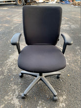 Load image into Gallery viewer, Verco High Back Operators Chair With Arms Black (New Slight Second) - Flogit2us.com