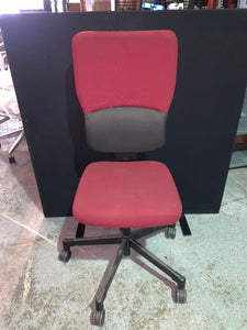 Red/Black High Back Office Chair - Flogit2us.com