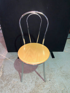 Chrome Framed Canteen/Dining Chair - Flogit2us.com