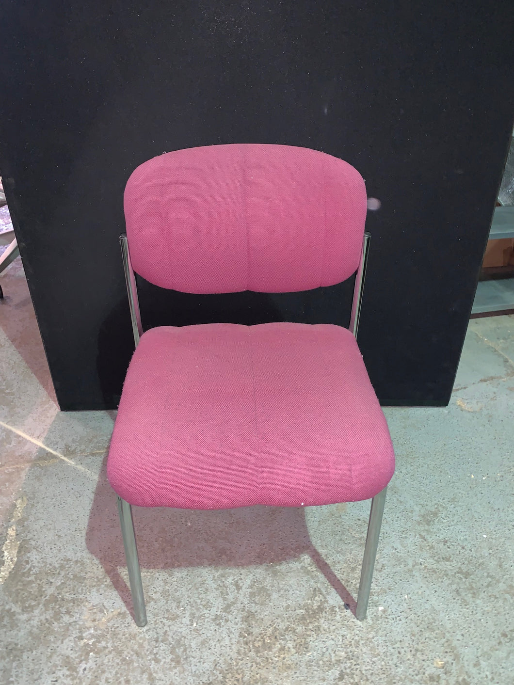 Maroon Meeting/Reception Chair - Flogit2us.com
