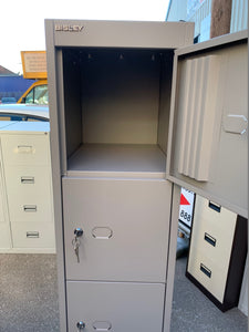Bisley 6 Door Locker Goose Grey (New Slight Second) - Flogit2us.com