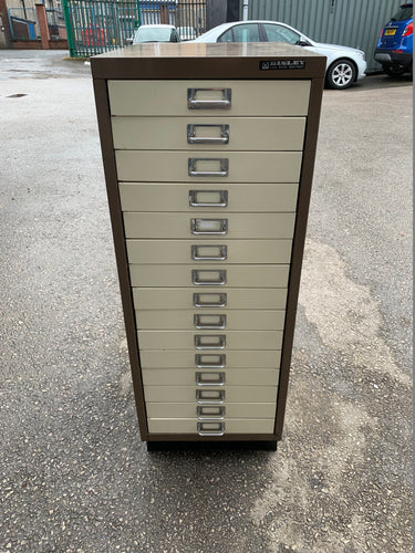Bisley 15 Drawer Multi-Drawer Filing Cabinet A3 - Flogit2us.com