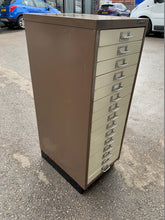 Load image into Gallery viewer, Bisley 15 Drawer Multi-Drawer Filing Cabinet A3