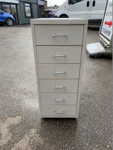 White 6 Drawer Multi-Drawer Filing Cabinet A4 - Flogit2us.com