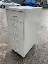 Load image into Gallery viewer, White 6 Drawer Multi-Drawer Filing Cabinet A4