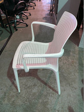 Load image into Gallery viewer, Canteen/Reception Polypropylene Stacking Chair White - Flogit2us.com