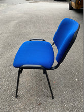 Load image into Gallery viewer, Blue Cloth Stackable Meeting/Conference Chair - Flogit2us.com