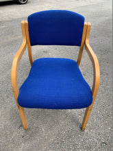 Load image into Gallery viewer, Blue Cloth Reception/Meeting Chair - Flogit2us.com