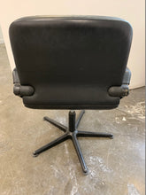 Load image into Gallery viewer, Black Leather Conference/Meeting Room Chair - Flogit2us.com