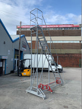Load image into Gallery viewer, Mobile Industrial Warehouse Steps - Platform Height 4m