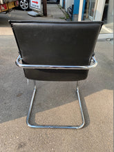 Load image into Gallery viewer, Essen Black Leather Faced Conference/Meeting Room Chair - Flogit2us.com