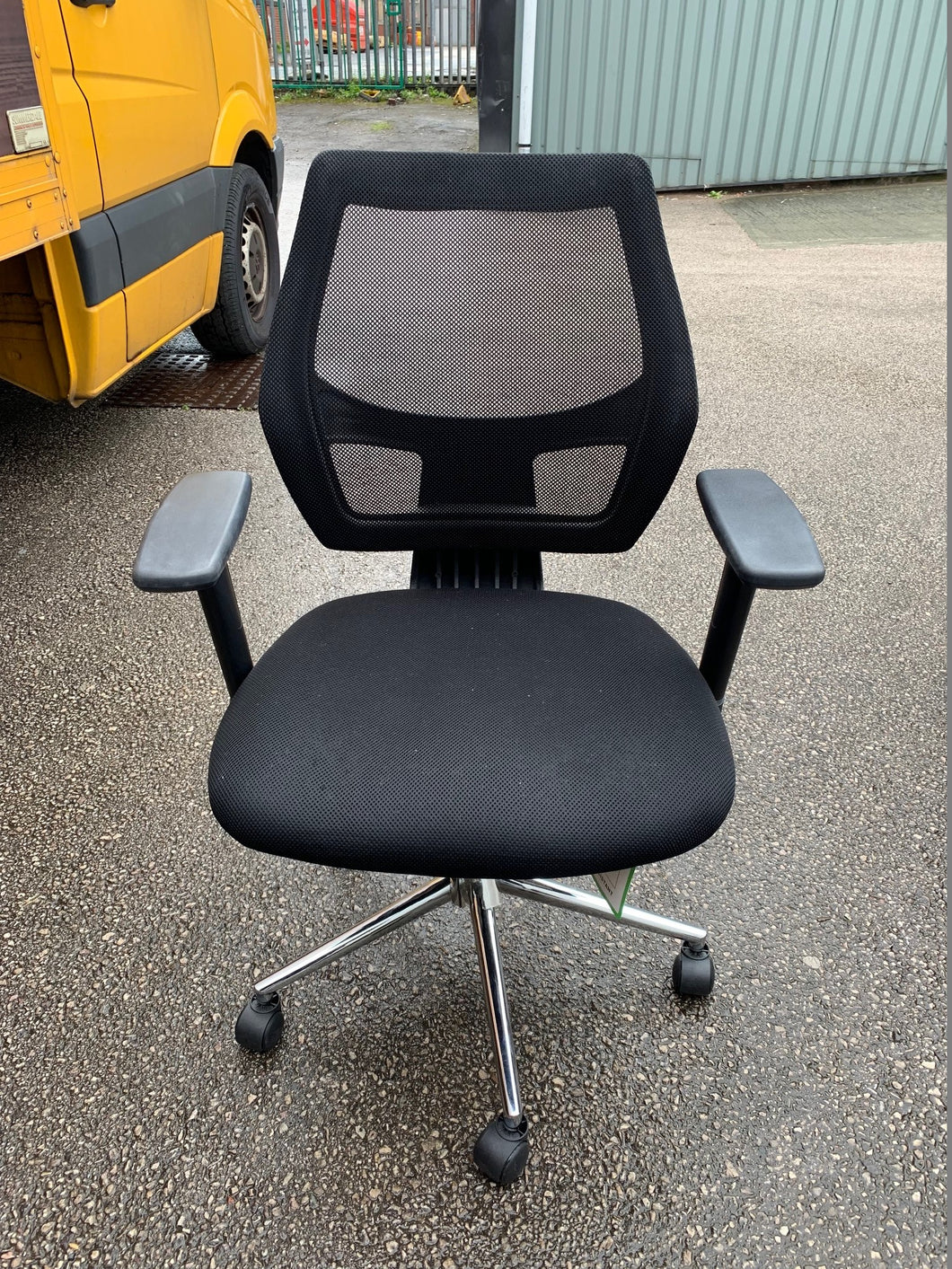 Mesh Back Multi Function Office Chair Black - Flogit2us.com