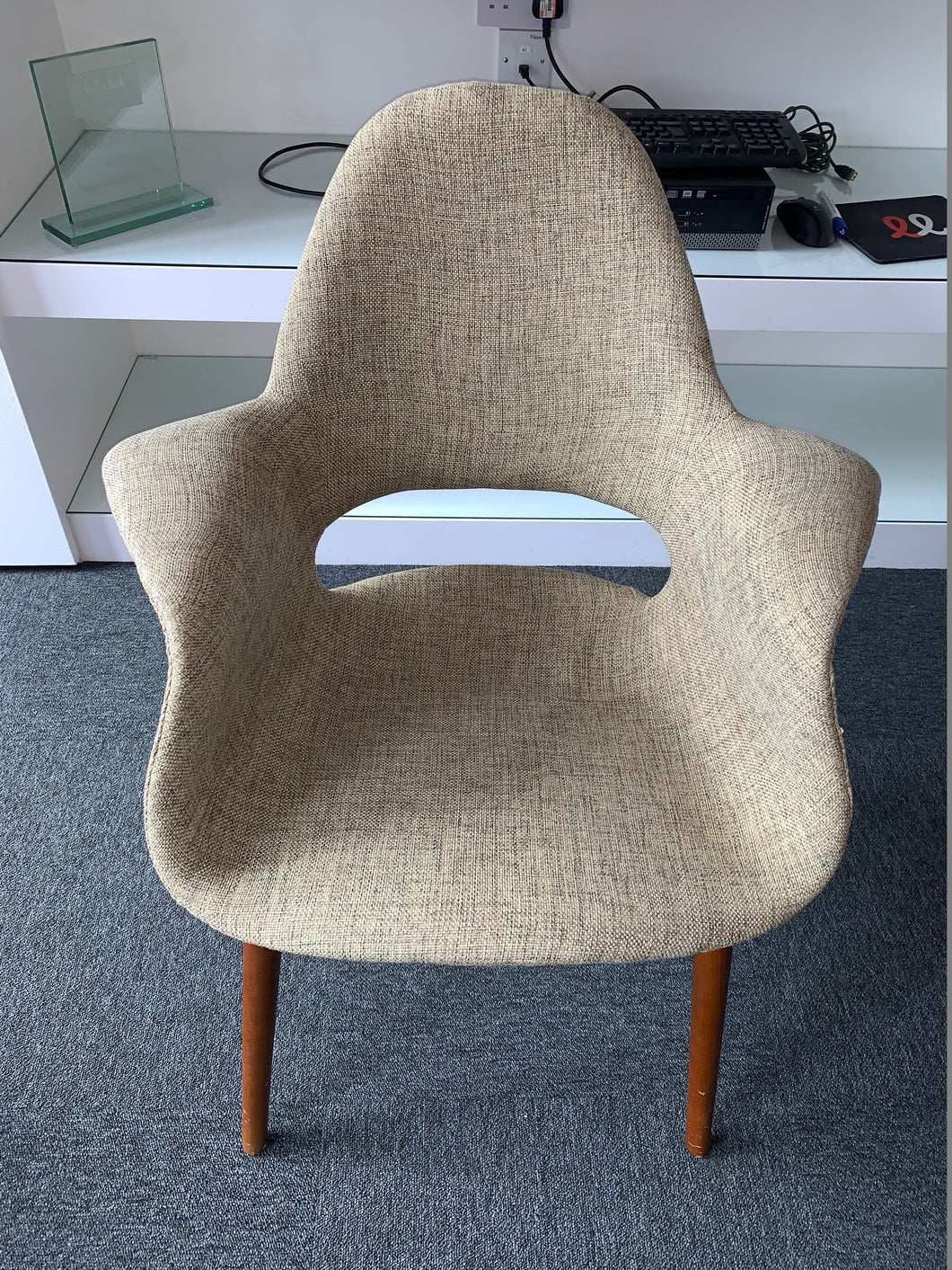Charles Eames Style Fabric Meeting/Reception Chair - Flogit2us.com