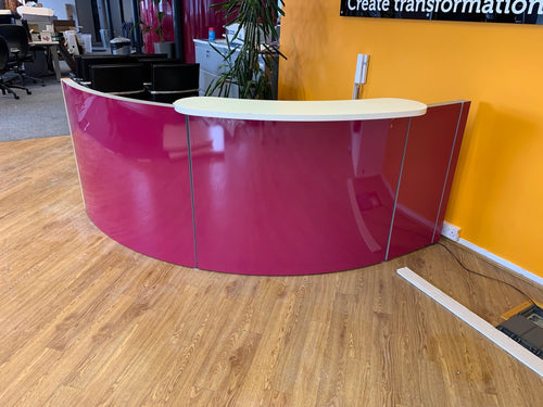Space Oasis Curved Reception Unit