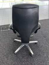 Load image into Gallery viewer, Giroflex 64 Black Leather Swivel Chair - Flogit2us.com
