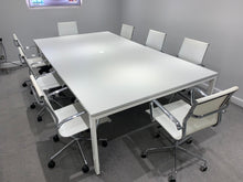 Load image into Gallery viewer, 8-10 Person Light Grey Meeting Table - Flogit2us.com
