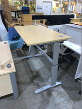 Load image into Gallery viewer, 1600mm Maple Electric Rise & Fall Desk - Flogit2us.com