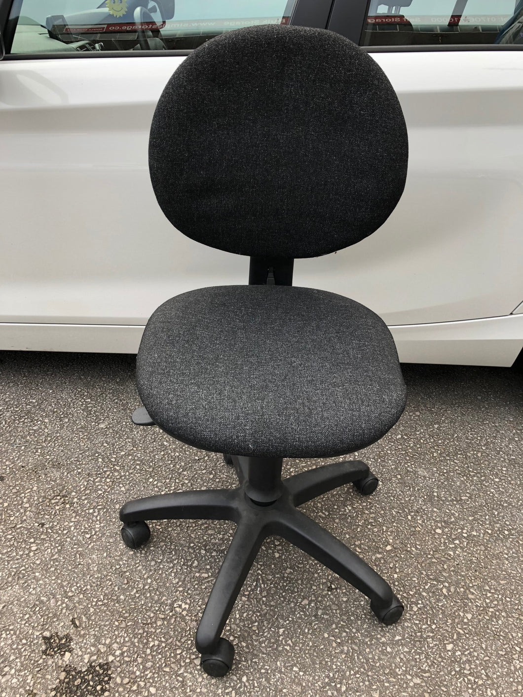 Charcoal Operators Chair - Flogit2us.com