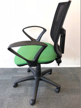 Load image into Gallery viewer, Mesh Back Office Chair With Arms Green - Flogit2us.com