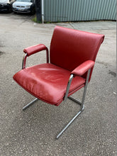 Load image into Gallery viewer, Boss Design Delphi Red Leather Visitor Chair - Flogit2us.com
