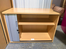 Load image into Gallery viewer, Premium Beech Tambour Cupboard - Flogit2us.com
