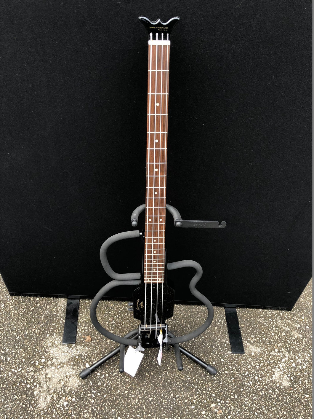 Aria Sinsonido Limited Edition Black Bass Guitar - Flogit2us.com