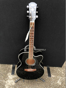 Yamaha Compass Series CPX500 BL Black Semi Acoustic Guitar