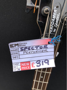 Spector Performer 4 String Electric Bass in Metallic Red - Flogit2us.com