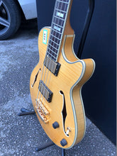 Load image into Gallery viewer, D'Angelico Excell Ex-Bass Electric Bass Guitar Natural - Flogit2us.com