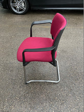 Load image into Gallery viewer, Cerantola Burgundy Meeting Room/Conference Chair - Flogit2us.com