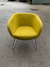 Load image into Gallery viewer, Nebula Upholstered Tub Chair - Lime - Flogit2us.com
