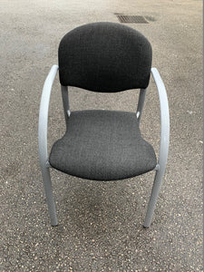 Charcoal Reception/Meeting Chair - Flogit2us.com