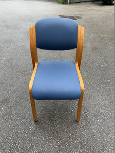 Meeting Room/Reception Chair - Blue - Flogit2us.com